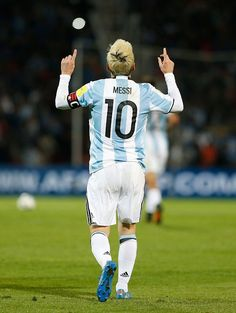Lionel Messi of Argentina celebrates after scoring the first goal of his team… Más Cr7 Messi, Messi Fans, Messi 10, Neymar, Messi Argentina 2018, Argentina Football Team, Fc Barcelona, Lionel Messi Barcelona, Espn Deportes