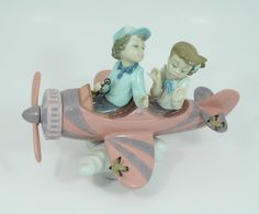 """Lladro """"Don't Look Down"""" Retired Porcelain Figurine #5698 Handmade In Spain - pinned by pin4etsy.com"""