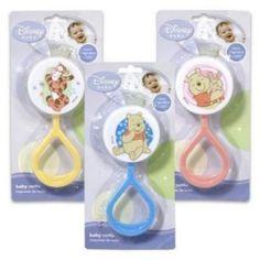 Disney Baby Winnie the Pooh Baby Rattle (Styles May Vary) Disney http://www.amazon.com/dp/B001SPBEGU/ref=cm_sw_r_pi_dp_vZHWvb0M23SE6