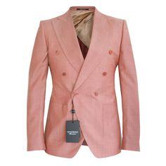 VIKTOR & ROLF $1370 slim fit double breasted SS12 runway blazer jacket 38/48 NEW #ViktorRolf #DoubleBreasted