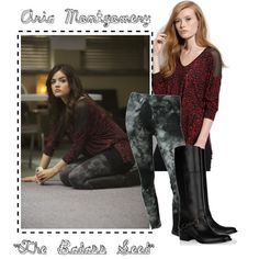 """""""Aria Montgomery: The Badass Seed"""" by nicole8808 on Polyvore"""