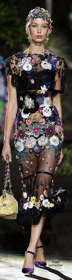 Dolce & Gabbana Alta Moda Premiere 2015, A Midsummer Night's Dream Collection   Purely Inspiration