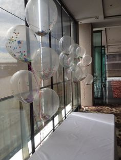 16 inch balloons filled with confetti!
