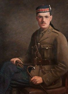 Officer of the Royal Scots Fusiliers - Great War