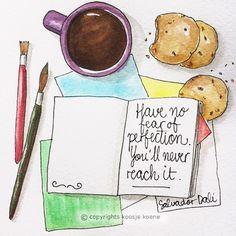 Koosje Koene Illustrations - Learn to draw: Quote