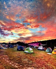 Sunset at dreamville, tomorrowland
