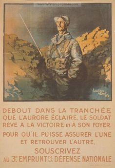 Examples of Propaganda from WW1 | French WW1 Propaganda Posters