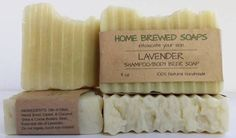 Lavender Beer Soap Shampoo and Body Bar all in one!