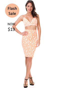 Abstract Print Crop Top & Skirt Set on sale!! You don't want to miss this chance ☺️  SHOP HERE ➡️ https://levixen.com/ABSTRACT-2PC-SET-ORANGE.html  #LeVixen #womensfashion #womensclothing #dresses #croptop #skirt #ootd #fashion #style #outfit #tgif #flashsale #sale