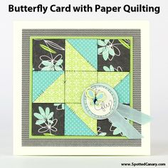 Adorable card to make with scraps.