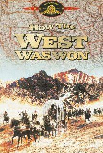 How The West Was Won based on the book by Louis L'Amour, starring Jimmy Stewart and John Wayne