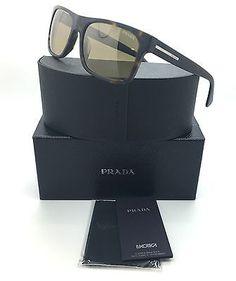 Sunglasses 48559  Prada Matte Tortoise Brown Sunglasses Spr 18P Haq 6S1 2N  Wm6296 -  BUY IT NOW ONLY   127.02 on eBay! 0680cb7808ff