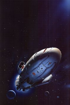 Peter Elson - The Boat of a Million Years by myriac, via Flickr | Click through for a larger image