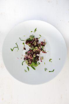 Bulgur-Salat mit zweierlei Bohnen und Minze