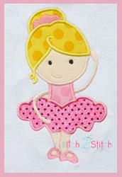 Hey, I found this really awesome Etsy listing at http://www.etsy.com/listing/126135707/ballerina-girl-applique-design-for