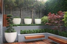 Contemporary Court Yard in Holborn, London. by Maria Ornberg, via Behance