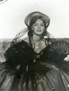 Greta Garbo in Camille (La Dame aux Camelias) 1936, George Cukor, MGM, Costumes by Adrian and wearing Joseff Hollywood Jewelry