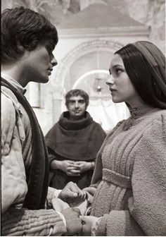 Leonard Whiting and Olivia Hussey as Romeo and Juliet
