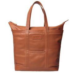 Ratian Matkuri laukku, ruskea nahka