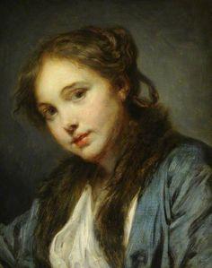 The Athenaeum - The Polish Girl (Jean-Baptiste Greuze - )