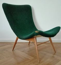 Beautiful vintage lounge chair from the 60's. by ClockedIt on Etsy