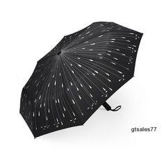 Umbrella Automatic Fashion Portable Folding Travel Compact Sturdy Windproof Fun #Fashion