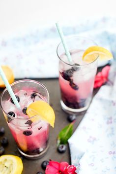 Blueberry lemonade-5