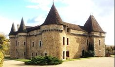 Castle for Sale in Perigueux  This enchanting and historic small Medieval  Château (listed  Historic Monument ), has been elegantly restored, situated  in the ... a824df6dead6