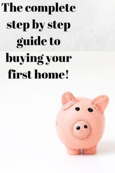 Looking to buy your first home? Not Sure where to start? Here is a complete step by step guide to buying your first home. Once you've read this article you will feel confident talking to mortgage lenders as well as real estate agents. Buying Your First Home, Home Buying, Real Estate Buyers, Change Your Address, Renters Insurance, First Time Home Buyers, Estate Agents, Investing Money, Financial Tips