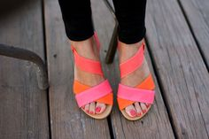 color block shoes