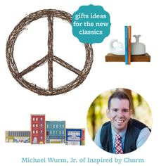 These gift picks from Michael of @Michael Dussert Wurm, Jr. {inspiredbycharm.com} are fitting for anyone on your list. Find the gift guide here: http://www.bhg.com/shop/shopping-guide/editors-favorite/gift-picks-from-michael-of-inspired-by-charm.html
