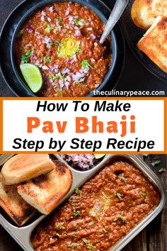 Want to make the authentic Mumbai style Pav Bhaji? You should then check out this recipe that includes tips and tricks and step by step method to make the best ever pav bhaji at home. This spiced mashed vegetables is served with dinner rolls. Pav Bhaji is a must try Indian street food recipe that can be served for snack or as a meal. It makes for a great party recipe too. #pavbhajirecipe #mumbaipavbhaji North Indian Recipes, Easy Indian Recipes, Vegetarian Recipes, Snack Recipes, Bhaji Recipe, Pav Bhaji, Easy Recipes For Beginners, Using A Pressure Cooker, Tea Time Snacks