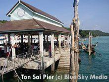 Ton Sai Bay Pier in Koh Phi Phi