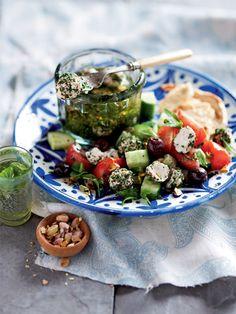 Labneh Fatoush Salad