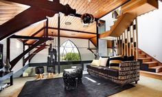 These Churches Were Converted Into Surprisingly Stylish Modern Homes - #Churches, #InteriorDesign