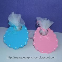 souvenirs baby shower niña goma eva - Cerca con Google