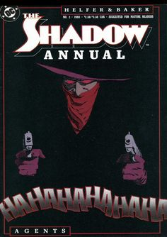 The Shadow Annual #2, 1988, cover by Kyle Baker