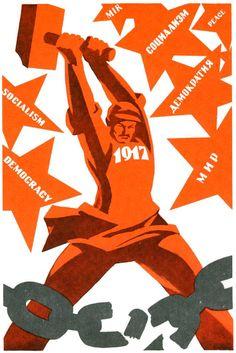 Revolución de Octubre, 1917.