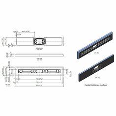 "Wedi Fundo Riolito Neo Modular Shower System - Base/Drain - 32"" x 5-3/4"" Drain Module (075100052)"