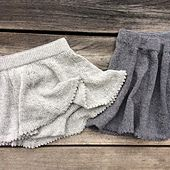 Olive's swing skirt with bloomers is a perfect skirt for the smallest children.