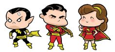 Marvel Family Members by JoelRCarroll