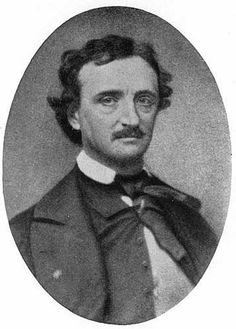 EDGAR ALLAN POE (1809-1849) American writer, poet, editor, and literary critic. He is best known for his stories of mystery and the macabre. His addictions included alcohol, drugs, and apparently young girls. He married his thirteen-year-old cousin Virginia Clemm.