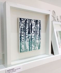 Littleworks Creative is a collection of little works of art, created by London designer and printmaker Tamara Williams Plaster Cast, Letterpress, Printmaking, It Cast, Creative, Frame, Design, Home Decor, Art