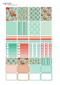 Acción de Gracias temática Caja Stickers-Erin condren Vertical Y Horizontal Otoño