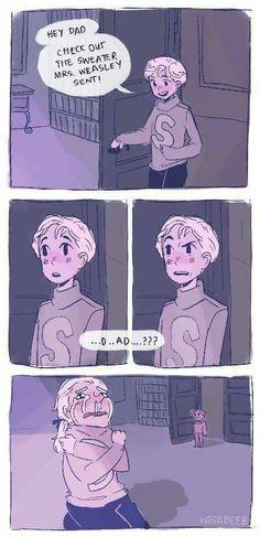 Scorpius and Draco