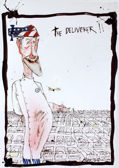 Ralph Steadman The DELIVERER