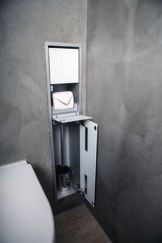 ingebouwde toiletrolhouder - Google zoeken