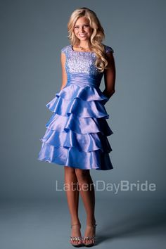 Tea Length (Prom) : London-  My personal favorite! I totally want this for Homecoming!