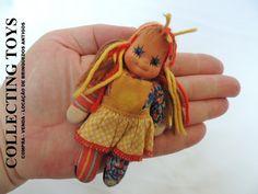 Boneca Emílinha - Estrela - Anos 80 - Original - 12 Cm - R$ 89,99 no MercadoLivre