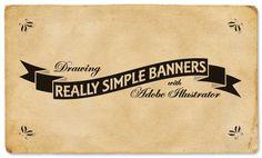 Adobe Illustrator Quick Banners by Josh.Duncan82, via Flickr